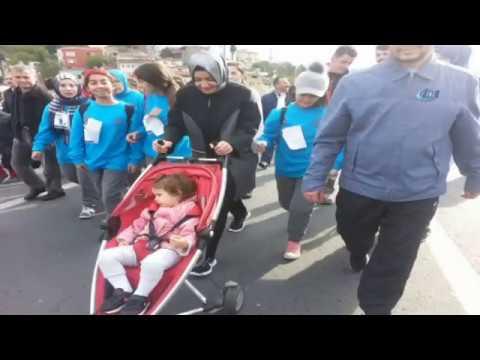 Bakan Kaya, İstanbul Maratonuna Katıldı