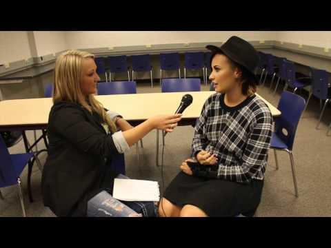 Blondie - Demi Lovato Interview