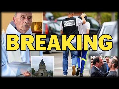 BREAKING: FRENCH PREIST BUTCHERED IN FRONT OF CONGREGATION DURING MORNING MASS
