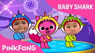 download lagu Baby Shark Dance With Kids Wearing Shark Costumes  gratis