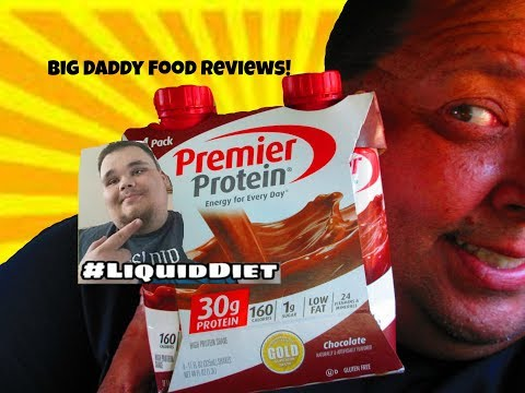 Premier Protein Chocolate Shake Review Ft. Big Daddy Food Reviews!
