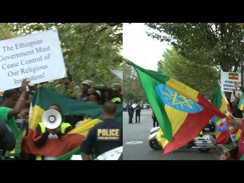 The Ethiopian Embassy Incident-ሰልፉ ስላልተረበሸ አፈሩ!