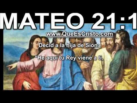 Mateo 21:1 Cristo Jesus en Biblia|Parabola TV Jesus Cristo Mateo 21:1 HD Historia