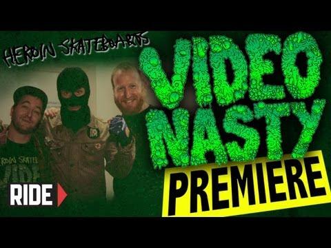 Heroin Skateboard's Video Nasty World Premiere