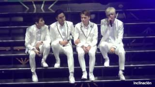 160808 SEVENTEEN Shining Diamond Concert in TOKYO 내게 기대 FANCAM