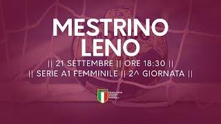 Serie A1F [2^]: Mestrino - Leno 25-20