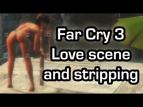Far Cry 3 - Love scene and jungle strip club (Gameplay 1080p)