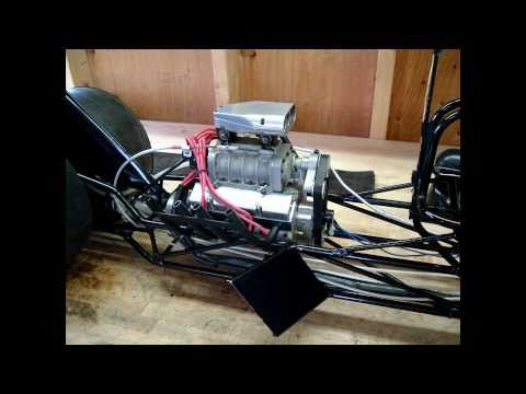 Quarter Scale RC Monowing Top Fuel Dragster Blown Conley V8