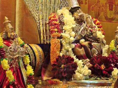Sanskrit Hymn Awakening Lord Lakshmi Narasimha (Malolan) - Sri...