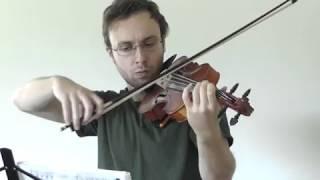 Pokemon Red/Blue - Route 11 solo violin cover