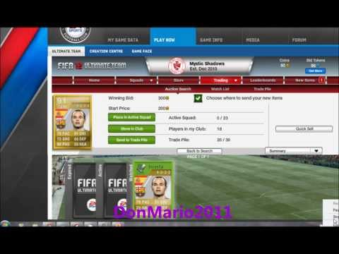 Fifa 12- Bought 91 Iniesta for 300 Coins! [AUTOBOT]