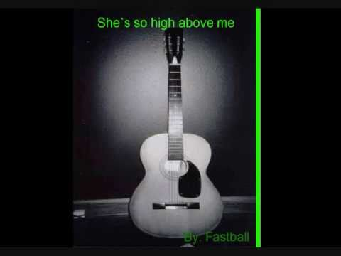Shes so high above me LYRICS by Tal Bachman
