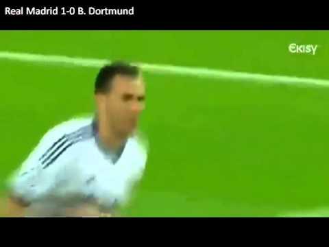 Real Madrid 2-0 Borussia Dortmund UCL 2012-13 Semifinal Vuelta