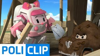 Let's get out of here rightly! | Robocar Poli Rescue Clips