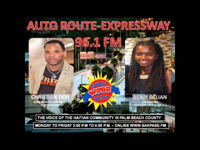 AUTO ROUTE EXPRESSWAY 96 1 FM BENJY DELIAN WITH CORRESPONDENT CHRISTIAN DOR LIVE FROM FRANCE
