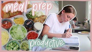 WEEKLY VLOG! | Meal prep, opening packages + grocery haul!