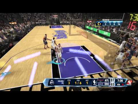 NBA 2k14 :: XBOX ONE :: FIRST NBA GAME :: NBA 2k14 My Career :: XBOXONE NBA 2k14 Gameplay Pt.3