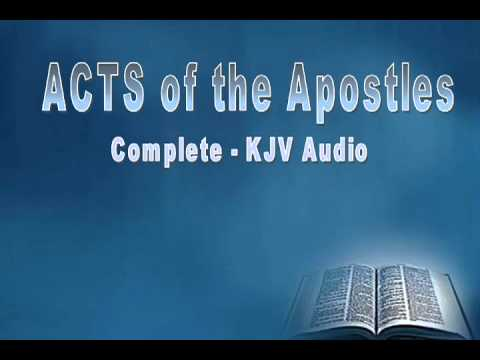 Acts Of The Apostles, Audio Book, Holy Bible, King James Version, Complete video