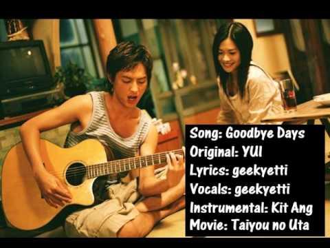 Goodbye Days (english Cover) {geekyetti} video