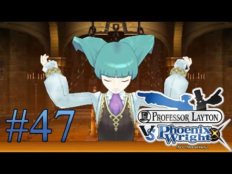 Let's Play Professor Layton Vs. Phoenix Wright Ace Attorney #47 Outing von Frau Erlington
