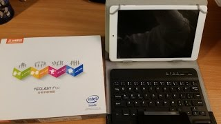 """Package from China #40 Teclast X80HD windows 10 8"""" tablet review"""