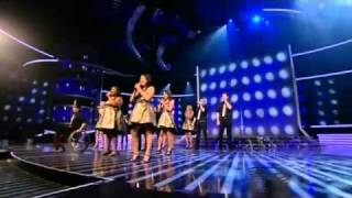 Glee Cast Perform On The X Factor