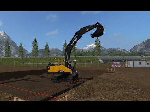 Construction Farming MODS!!! Farming Simulator 2017! Let's do this on the Buffalo Quarry!!