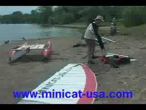 The Minicat Inflatable Catamaran