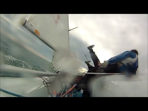 420 Sailing Tack Fail || Sailing Team Eklund/Stenman