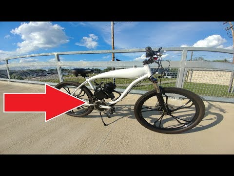 Motorized Bike Jackshaft. What it does and how it does it *Viewer Request* Hill Climb and Speed Test