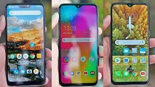 Galaxy M20 vs Zenfone Max Pro M2 Vs Realme 2 Pro Full Comparison : Tik Payega ? 🔥