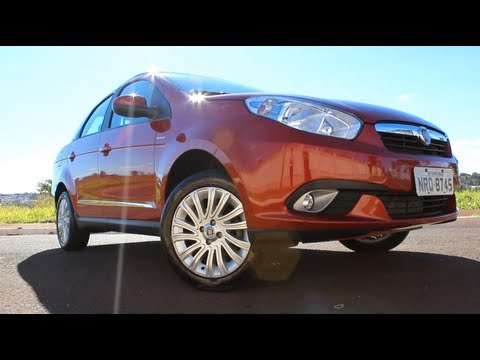 Test Drive Fiat Grand Siena Essence 1.616V Dualogic 2013 (Canal Top Speed)