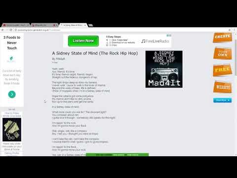 Rap Lyrics Generator