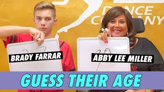 Abby Lee Miller vs. Brady Farrar - Guess Their Age