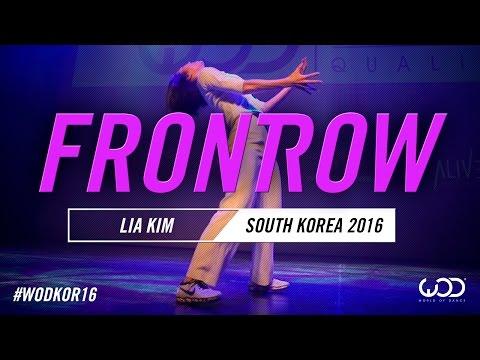 LIA KIM | FrontRow | World of Dance South Korea Qualifier 2016 | #WODKOR16