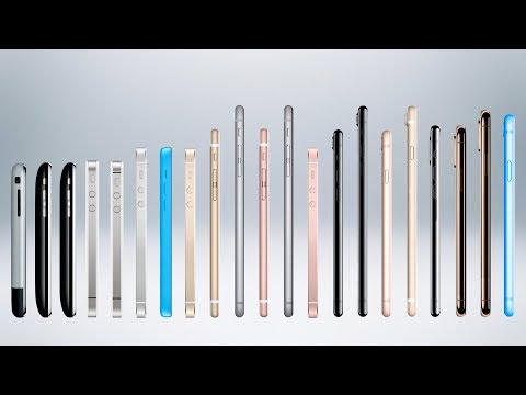 History of the iPhone