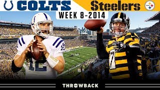 Luck & Big Ben EPIC QB Duel! (Colts vs. Steelers 2014, Week 8)