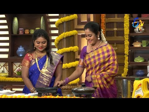 Telugu Ruchi | 21st  September 2018 | Full Episode | ETV Telugu