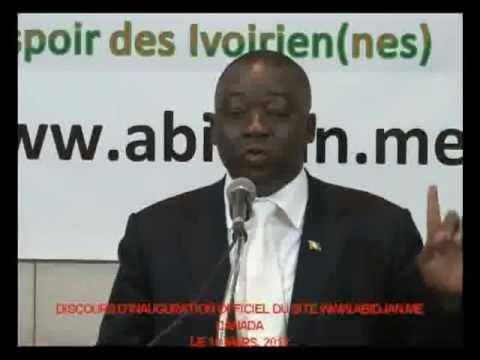 Inauguration du Site ABIDJAN.ME  - Ivory coast news Politique en cote d'ivoire