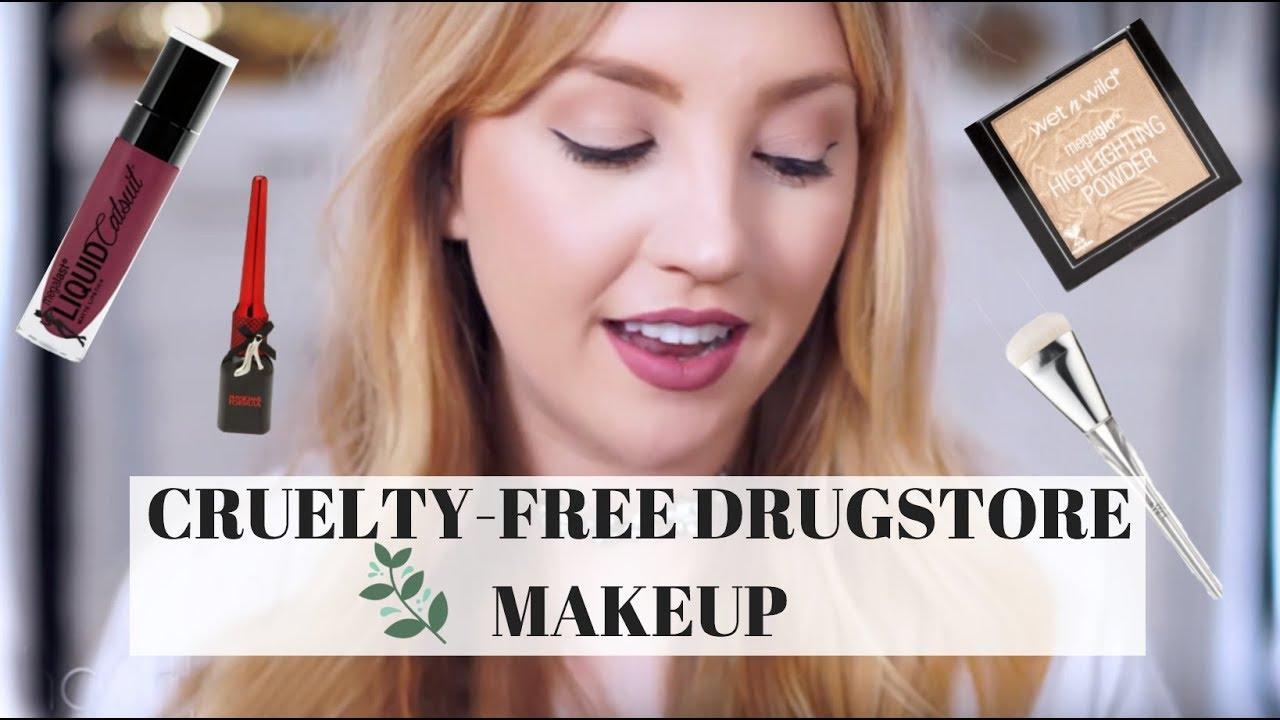 Vegan drugstore makeup