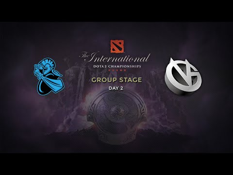 NewBee -vs- VG, The International 4, Group Stage, Day 2
