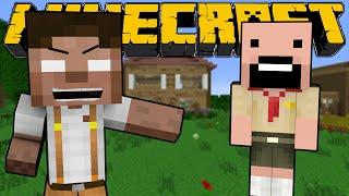 When Herobrine and Notch were Kids - Minecraft