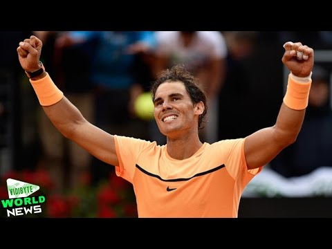 Rafael Nadal beats Nick Kyrgios at Italian Open