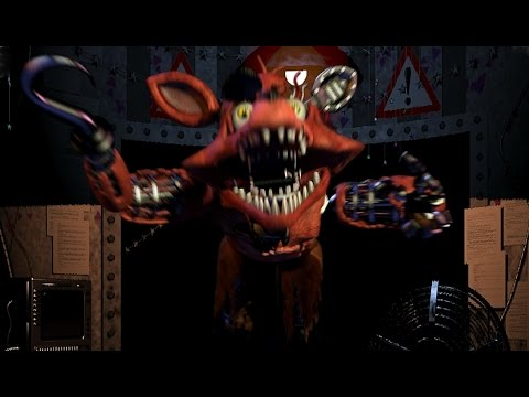 Foxy makes an entrance five nights at freddy s 2 part 2 youtube