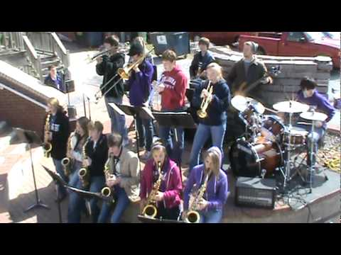 Bristow High School Jazz Band - Boogie Woogie Bugle Boy