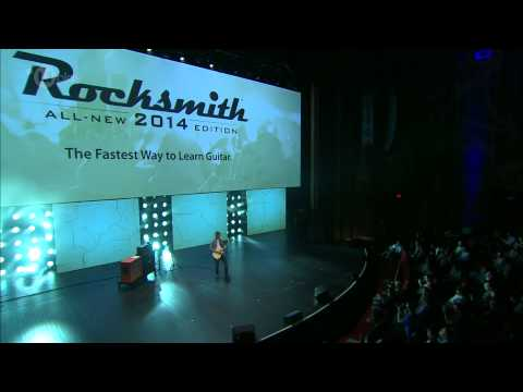 Jerry Cantrell shows off Rocksmith 2014