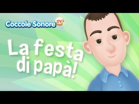 la festa di pap canzoni per bambini di coccole sonore
