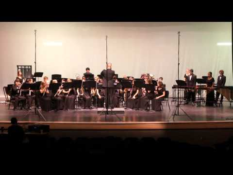 Cedar Ridge High School Symphonic Band.  Themes from Green Bushes. 2012 Peak Music Festival