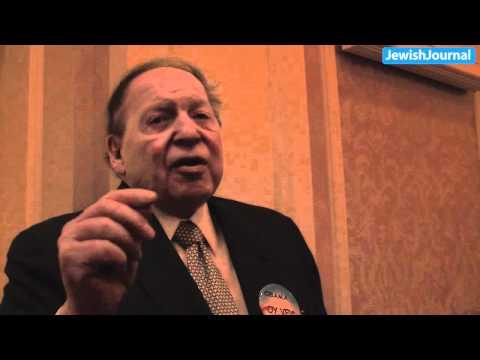 Sheldon Adelson on Newt Gingrich:
