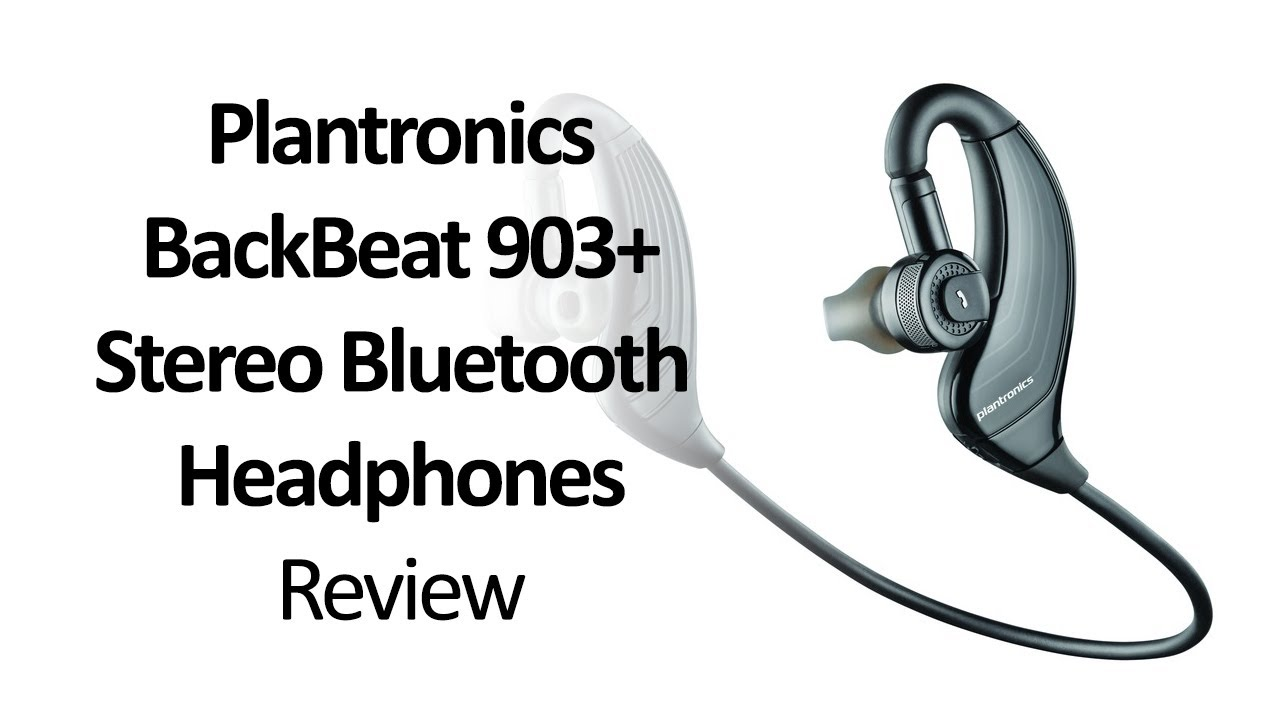 plantronics backbeat 903 stereo bluetooth headphones review youtube. Black Bedroom Furniture Sets. Home Design Ideas
